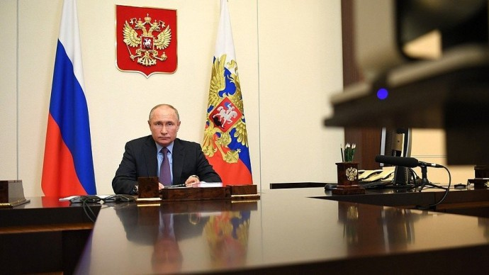 Видео совещания Владимира Путина поэкономическим вопросам 9 декабря 2020 года