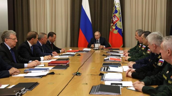 Видео: выступление Путина на совещании оходе выполнения гособоронзаказа 26 мая 2021 года