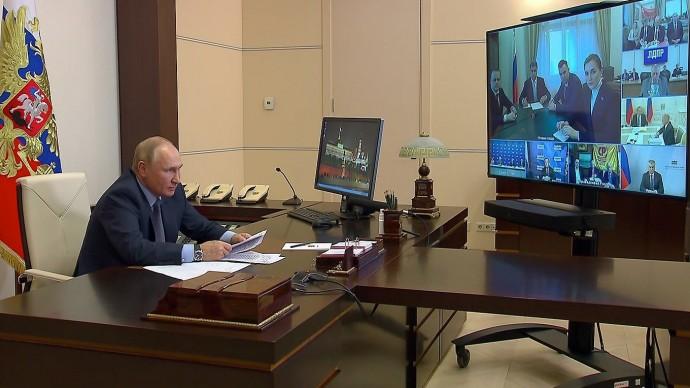 Видео встречи Владимира Путина сруководством политических партий 25 сентября 2021 года