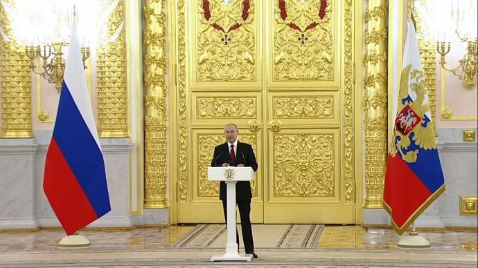 Видео: Выступление Путина на церемонии вручения верительных грамот 18 мая 2021 года