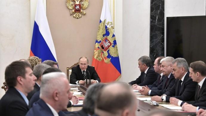 Видео: расширенное заседание Совета Безопасности с Владимиром Путиным 16 апреля 2019 года
