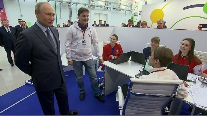 Видеовстречи Путина слидерами волонтерского движения 5 декабря 2019 года