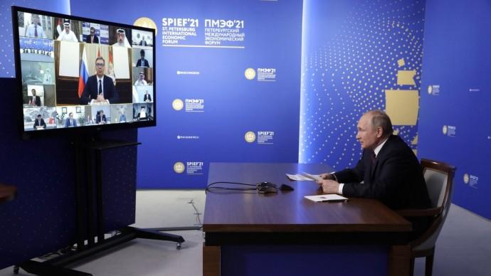 Видео со встречи Путина спредставителями производителей вакцины «Спутник V» 4 июня 2021 года