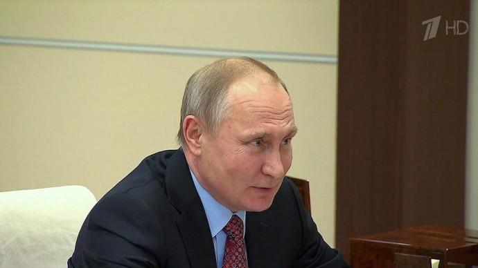 Владимир Путин провел рабочую встречу с президентом РАН Александром Сергеевым.