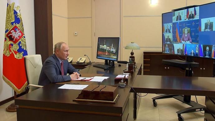 Видео: выступление Владимира Путина на совещании Совета Безопасности 14 мая 2021 года