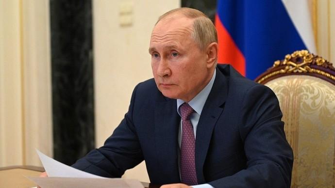 Видео совещания Владимира Путина счленами Правительства 5 августа 2021 года