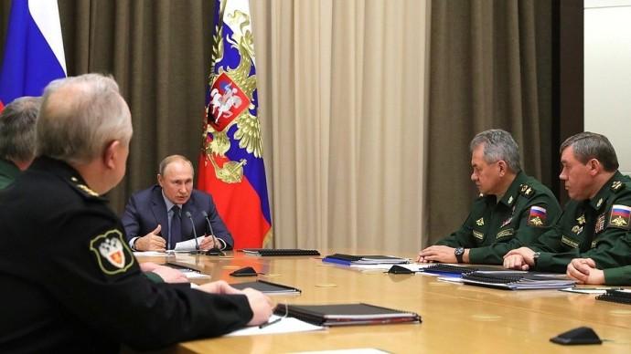 Видео совещания Путина сруководством Минобороны ипредприятий ОПК 5 декабря 2019 года