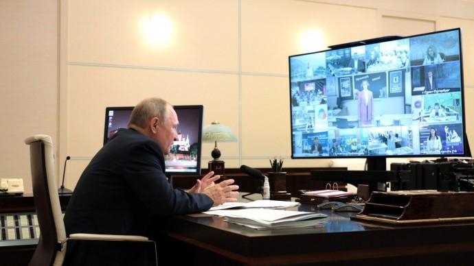 Видео со встречи Владимира Путина спредставителями общественности 25 августа 2021 года