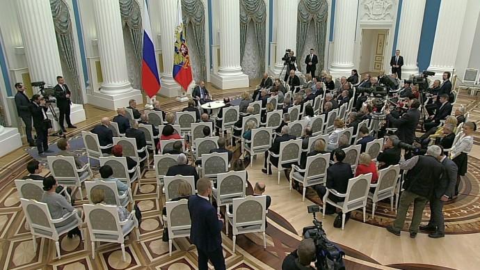 Видео встречи Путина срегиональными уполномоченными поправам человека 10 декабря 2019 года