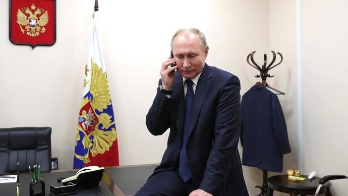 Видео телефонного разговора Путина сАндреем Кочетовым 23 декабря 2019 года