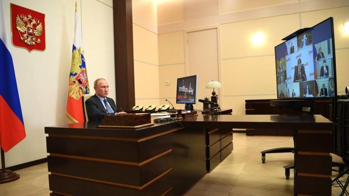 Видео совещания Путина обОАО «РЖД» 8 декабря 2020 года