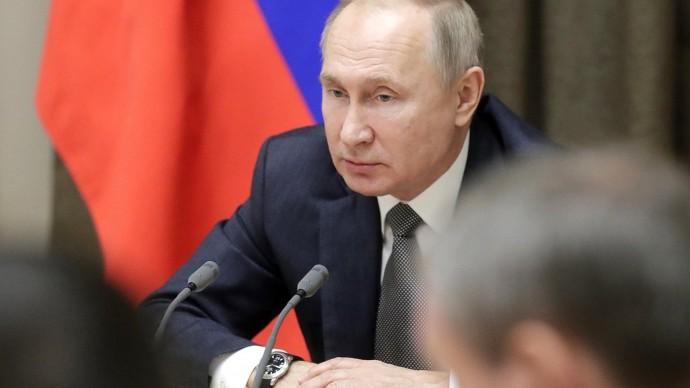 Видео совещания Путина сруководством Минобороны ипредприятий ОПК 2 декабря 2019 года