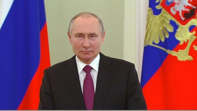 Видео: обращение Путина послучаю Дня войск национальной гвардии 27 марта 2021 года
