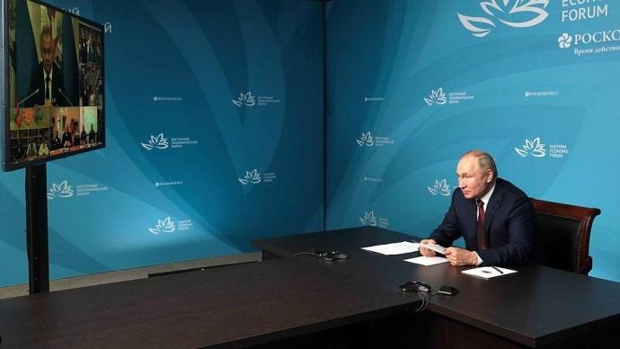 Видео: открытие Путиным социальных объектов образования вРеспублике Дагестан 1 сентября 2021 года