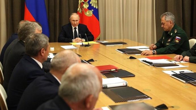 Видео: выступление Путина на совещании сруководством Минобороны 27 мая 2021 года