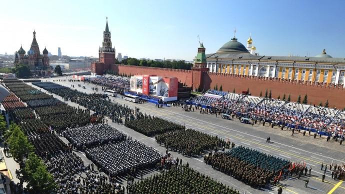 Видео Парада вчесть 75-летия Великой Победы 24 июня 2020 года