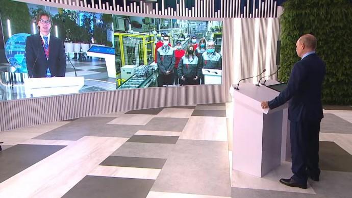Видео: осмотр Путиным интерактивной презентации результатов развития Дальнего Востока 2 сентября 202