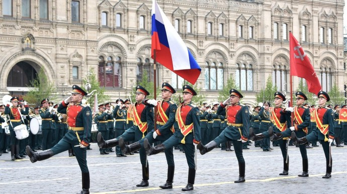 Видео Парада Победы наКрасной площади 9 мая 2019 года