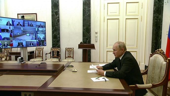 Видео выступления Путина на заседании Совета поразвитию физической культуры испорта 10 сентября 2021 года