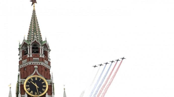 Видео празднования 75-летие Победы в Москве 9 мая 2020 года