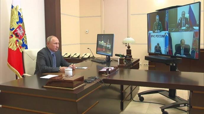 Видео совещания Путина поНагорному Карабаху 13 ноября 2020 года