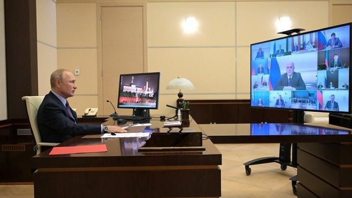 Видео заседания Совета постратегическому развитию инациональным проектам 13 июля 2020 года