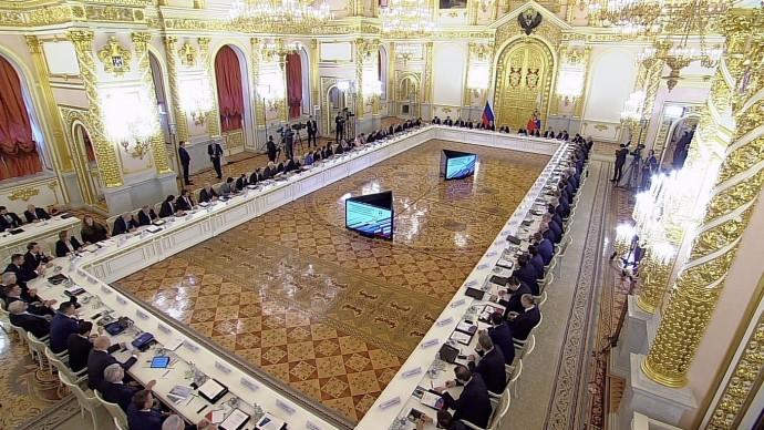 Видео совместного заседания президиума Госсовета иСовета понауке иобразованию 6 февраля 2020 года