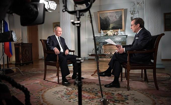 Интервью Владимира Путина американскому телеканалу Fox News