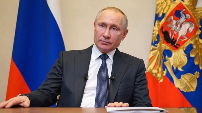 Видео обращения Путина кгражданам России 25 марта 2020 года