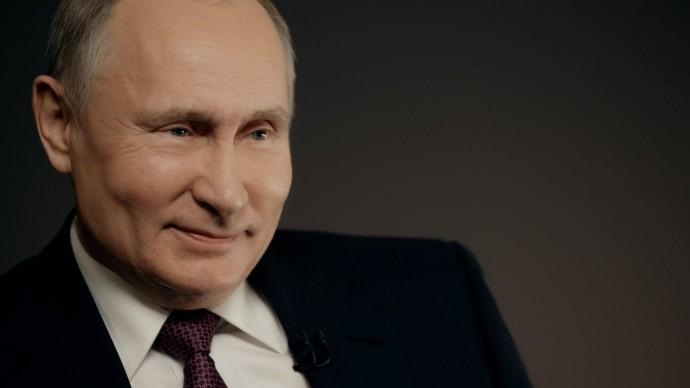 Видео: Владимир Путин опервых шагах вреализации нацпроектов (интервью ТАСС) 25 февраля 2020 года