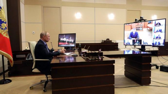 Видео совещания Путина сполномочными представителями Президента 30 марта 2020 года