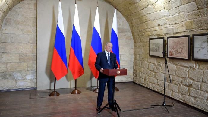 Видео церемонии вручения Путиным государственных наград строителям Крымского моста 18 марта 2020 год