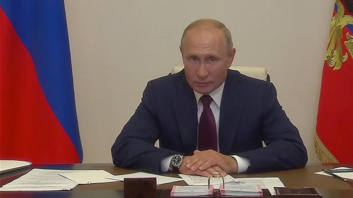 Видео со встречи Путина срабочей группой поподготовке предложений овнесении поправок вКонституци