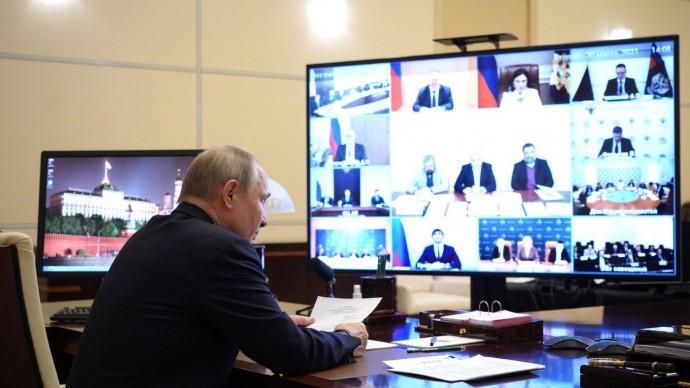 Видео: Путин на заседании Совета помежнациональным отношениям 30 марта 2021 года